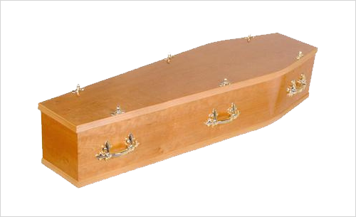Norbury Coffin by Green Willow Funerals