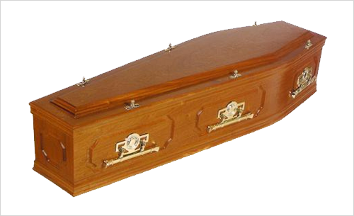 Ascot Coffin by Green Willow Funerals
