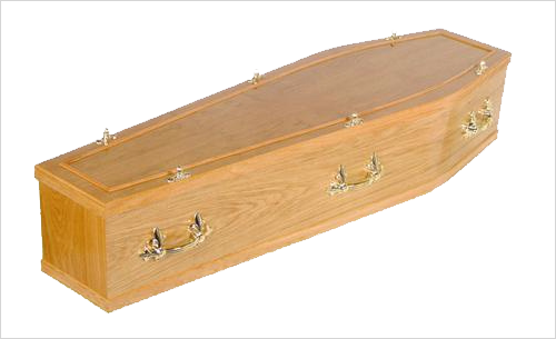 Conway Coffin by Green Willow Funerals