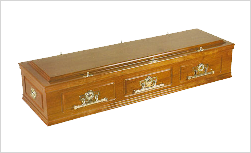 Windsor Coffin by Green Willow Funerals